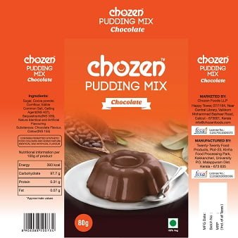 choco chozen package design
